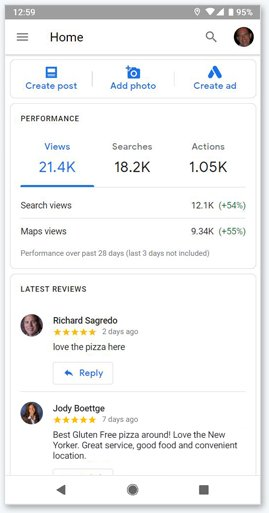Google My Business Insights - Take Control using insights